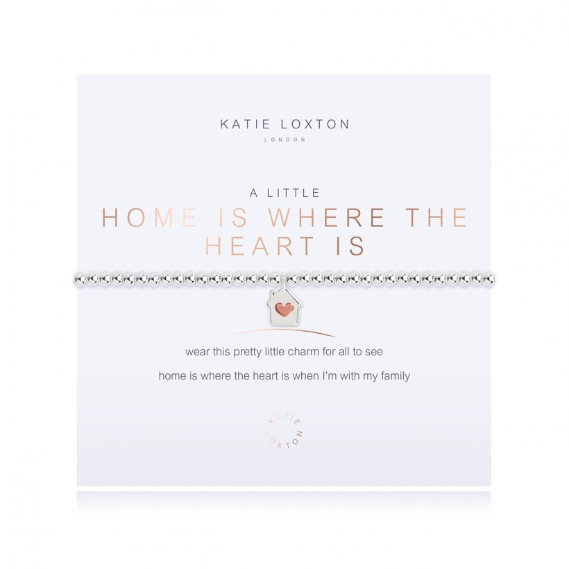 Katie Loxton: A Little Home is Where the Heart Is Bracelet
