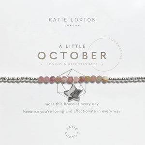 Katie Loxton: A Little October Bracelet