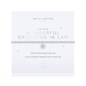 Katie Loxton: A Little Wonderful Daughter In Law Bracelet