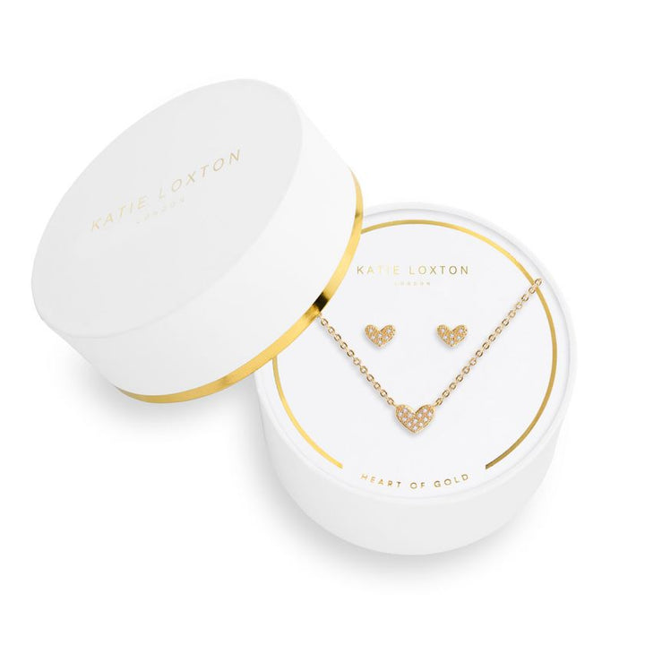 Katie Loxton: Heart of Gold Sentiment Set