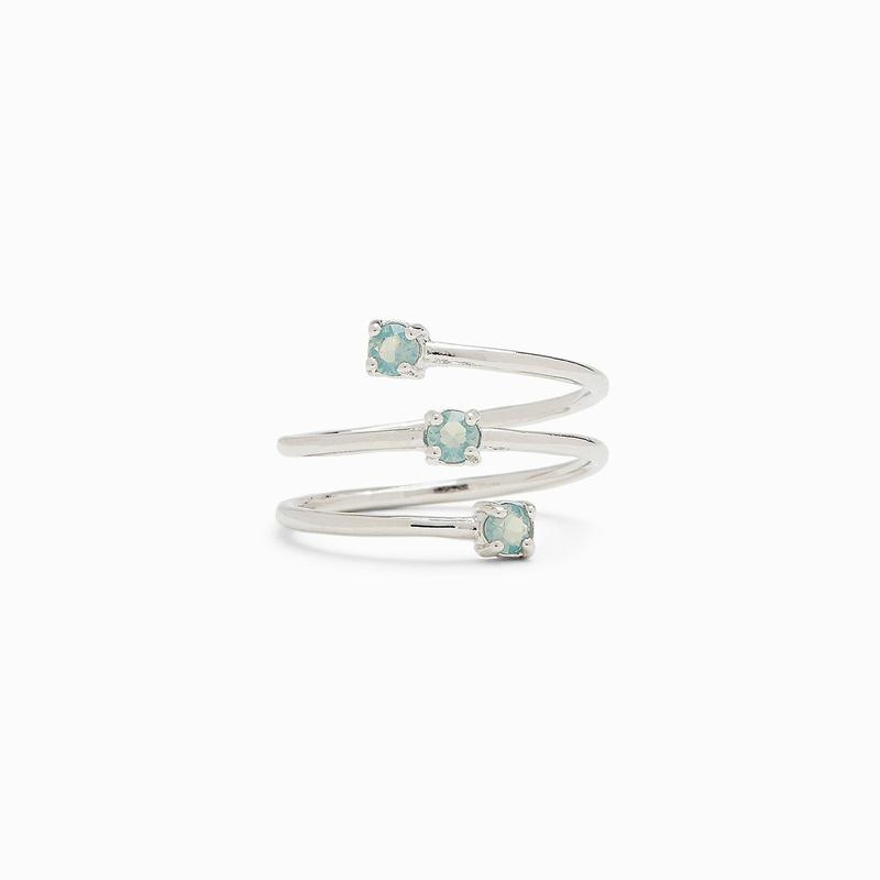 Pura Vida: Triple Opal Wrap Toe Ring