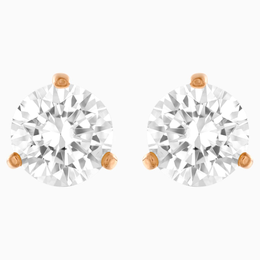 Swarovski: Solitaire Pierced Earrings