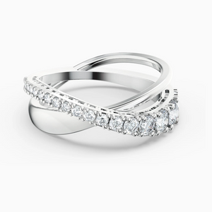Swarovski: Twist Rows Ring