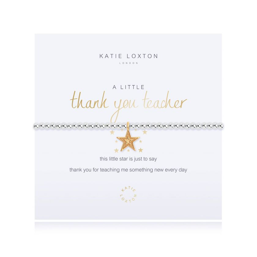 Katie Loxton: A Little Thank You Teacher Bracelet