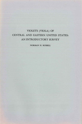 Violets (Viola) of Central and Eastern United States: An Introductory Survey