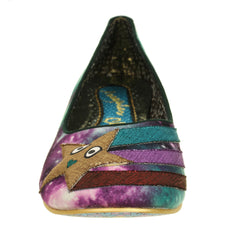 Star Dust Galaxy Flat from Irregular Choice