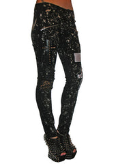 Bleached & Destroyed Jeans from Tripp NYC