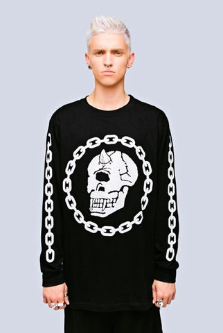 Long Clothing x Mishka Collaboration Chain Long Sleeve Shirt - Unisex