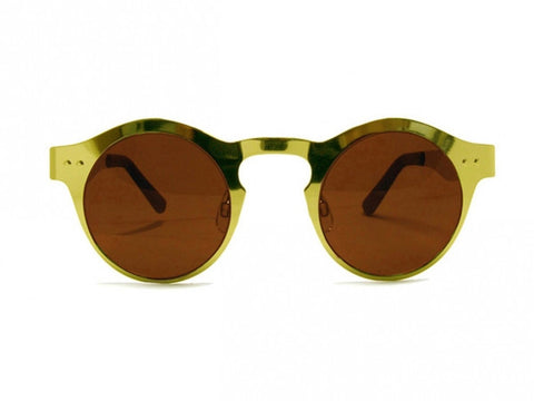 Spitfire BBX in Gold Frame with Gold Mirror Lens