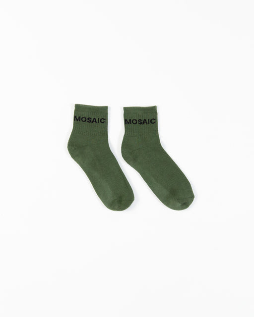 The Quarter Crew Sock (Pack of Two)