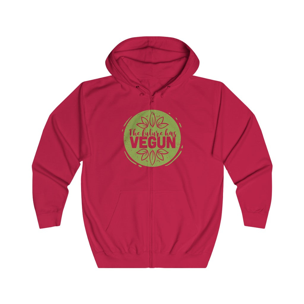 The Future has VEGUN Full Zip Hoodie