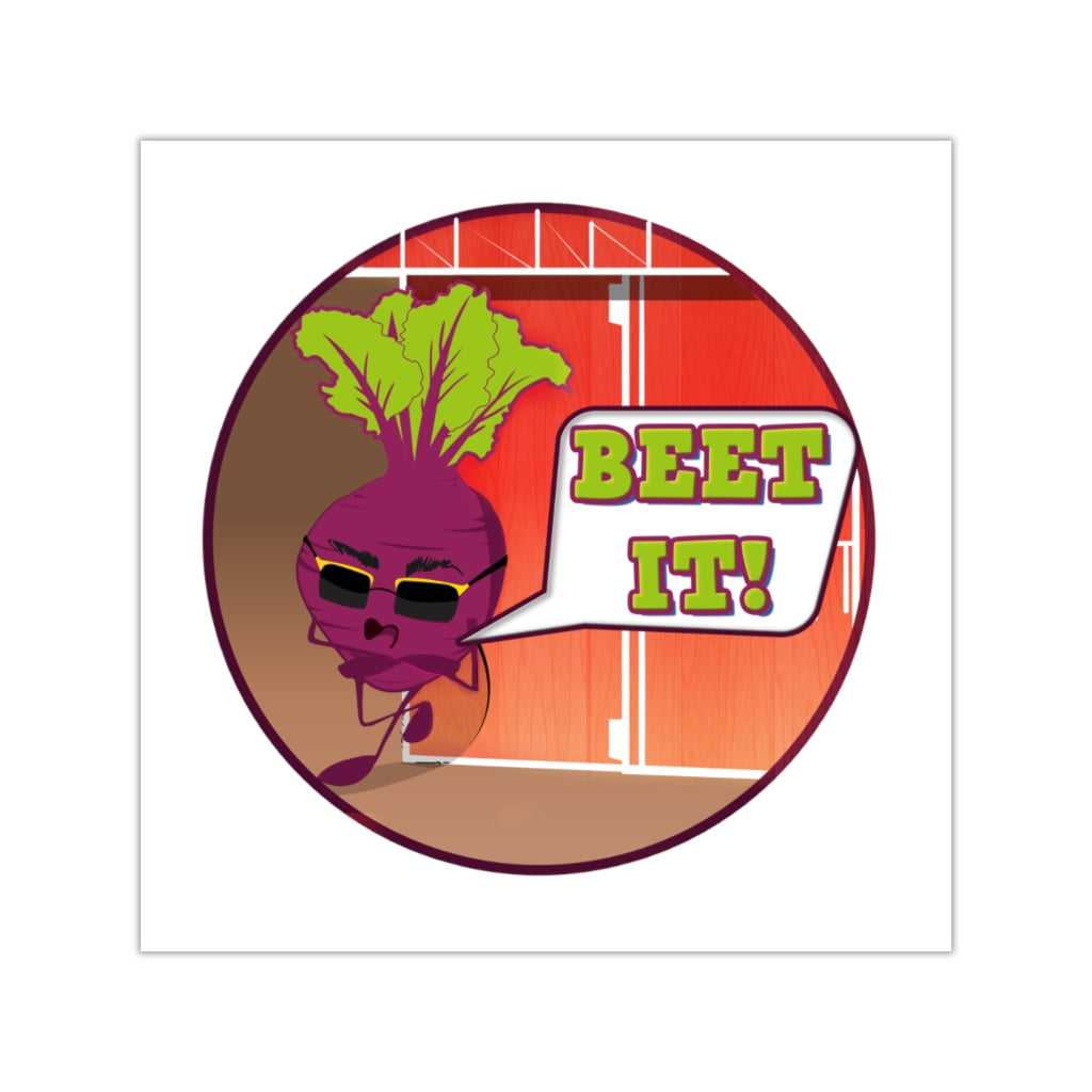 BEET IT! Stickers