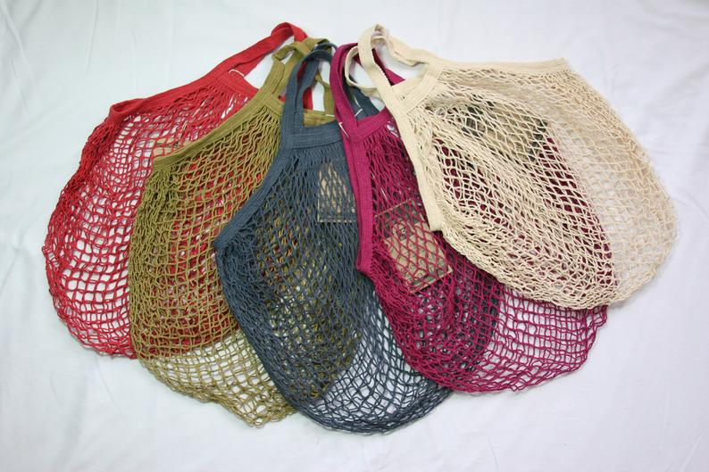 Reusable Cotton Grocery Shopping Bag