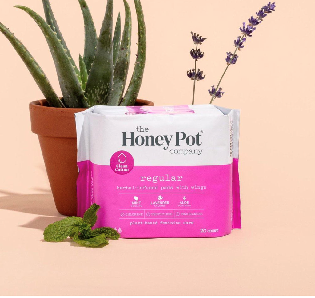 Regular Herbal Pads with Wings