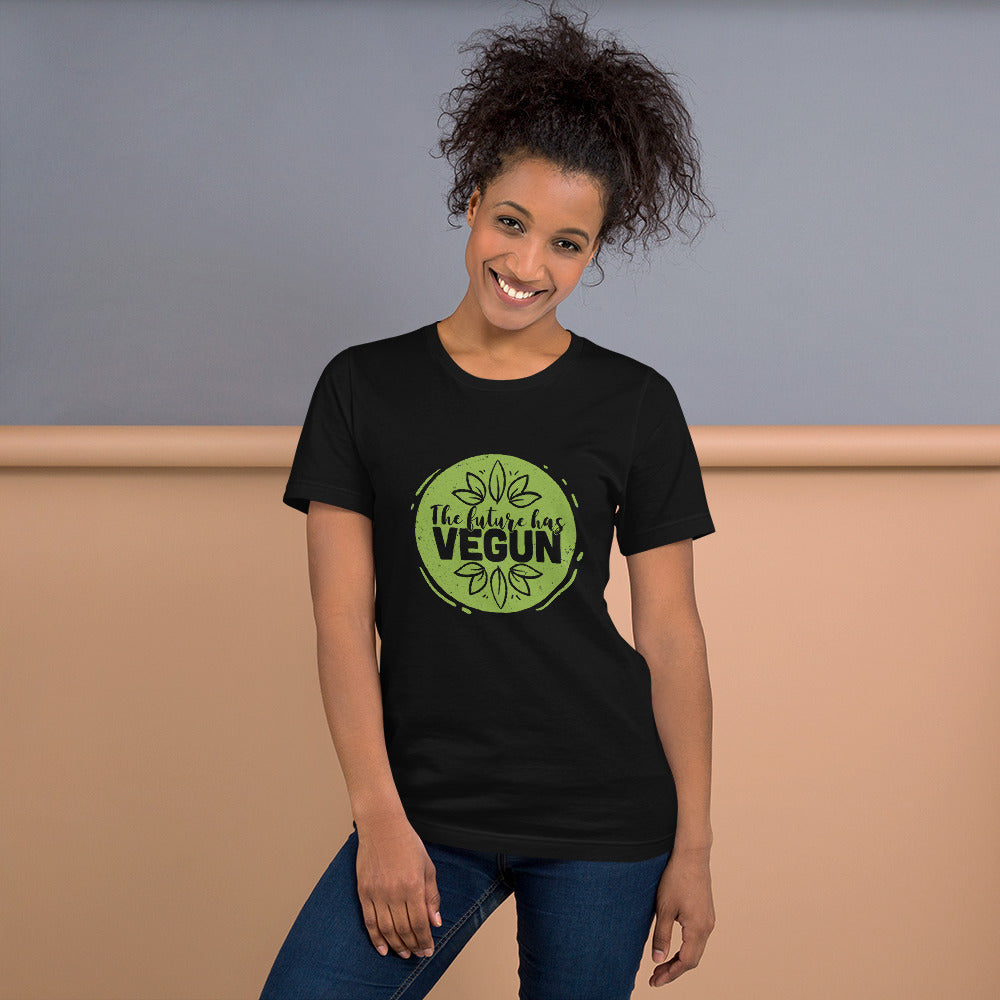 The future has VEGUN Short-Sleeve Unisex T-Shirt