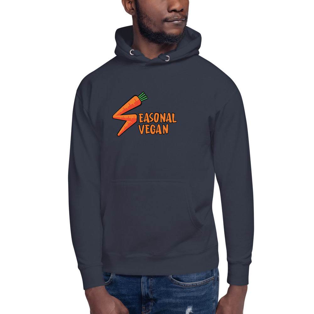 Seasonal Vegan Men's Hoodie
