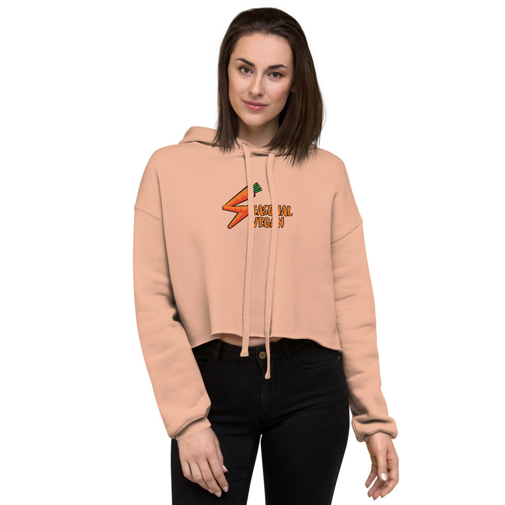 Women's Seasonal Vegan Crop Hoodie