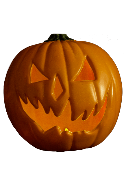 HALLOWEEN 6: Light Up Pumpkin Prop