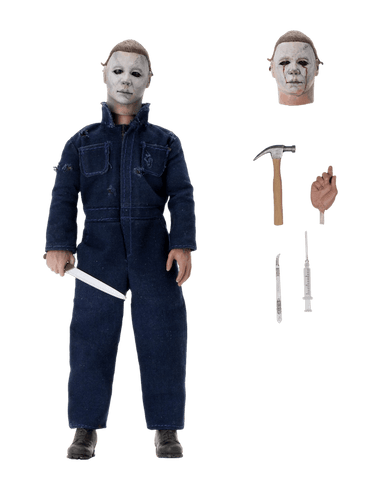 Halloween II – NECA 8″ Clothed Action Figure – Ultimate Michael Myers