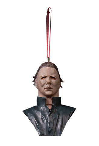 Halloween II Michael Myers bust Christmas Ornament