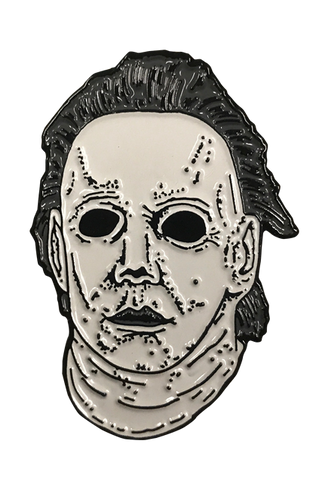 Michael Myers pin from Halloween 6