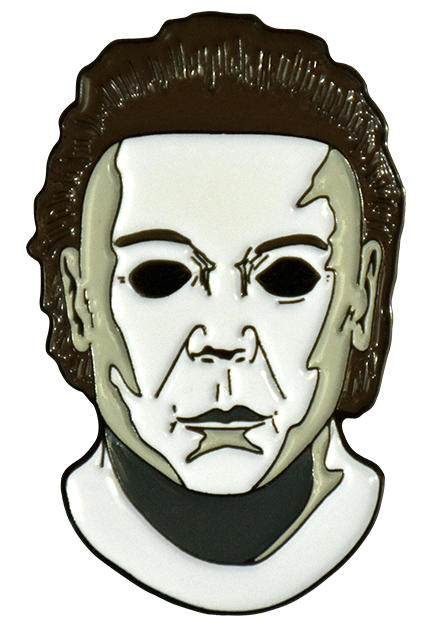 Michael Myers pin from Halloween 8 Resurrection