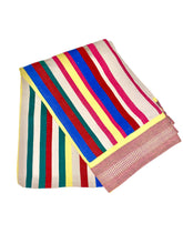 Load image into Gallery viewer, ZENU CULTURE HAND LOOMED 5 X 7 COTTON THROW BLANKET