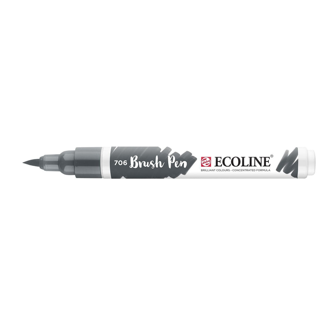 Ecoline Brush Pen Dunkelgrau (706)