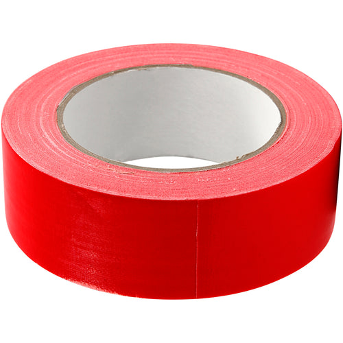 Isolierband, Rot, B: 38 mm, 25 m/ 1 Rolle