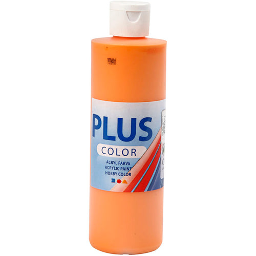 Plus Color Bastelfarbe, Kürbis, 250 ml/ 1 Fl.
