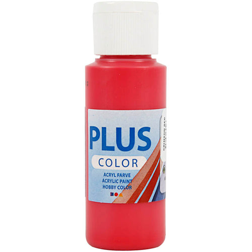 Plus Color Bastelfarbe, Purpurrot, 60 ml/ 1 Fl.