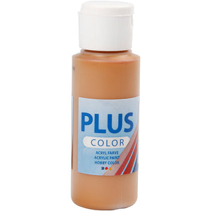 Plus Color Bastelfarbe, Sienna, 60 ml/ 1 Fl.