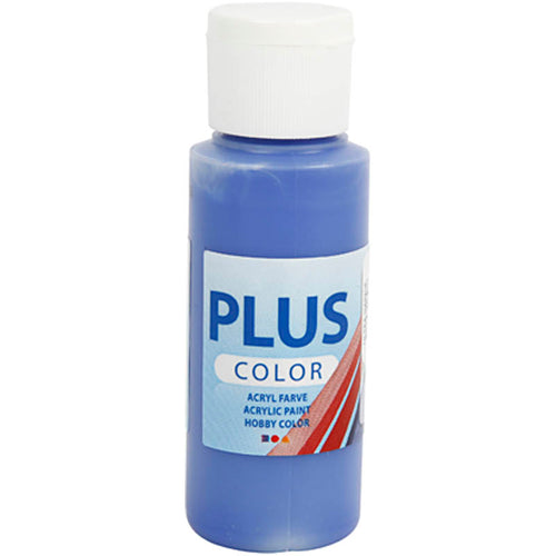 Plus Color Bastelfarbe, Ultramarinblau, 60 ml/ 1 Fl.