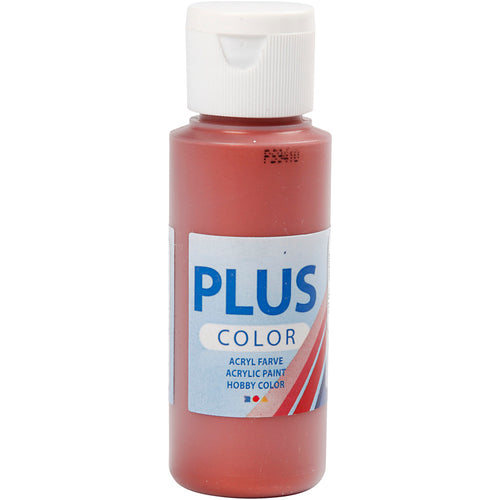 Plus Color Bastelfarbe, Kupferrot, 60 ml/ 1 Fl.