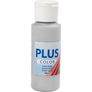 Plus Color Bastelfarbe, Silber, 60 ml/ 1 Fl.