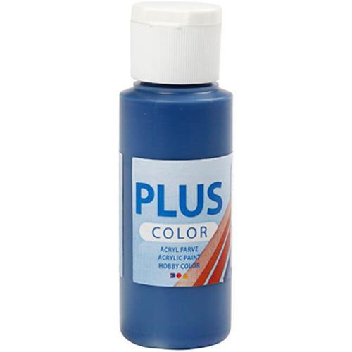 Plus Color Bastelfarbe, Marineblau, 60 ml/ 1 Fl.
