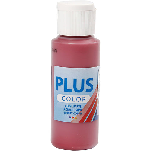 Plus Color Bastelfarbe, Altrot, 60 ml/ 1 Fl.