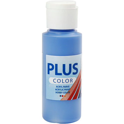 Plus Color Bastelfarbe, Kobaltblau, 60 ml/ 1 Fl.