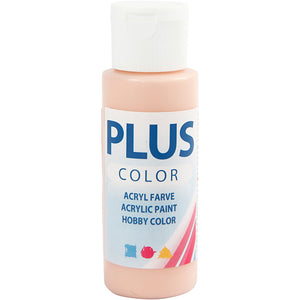 Plus Color Bastelfarbe, Pfirsich, 60 ml/ 1 Fl.