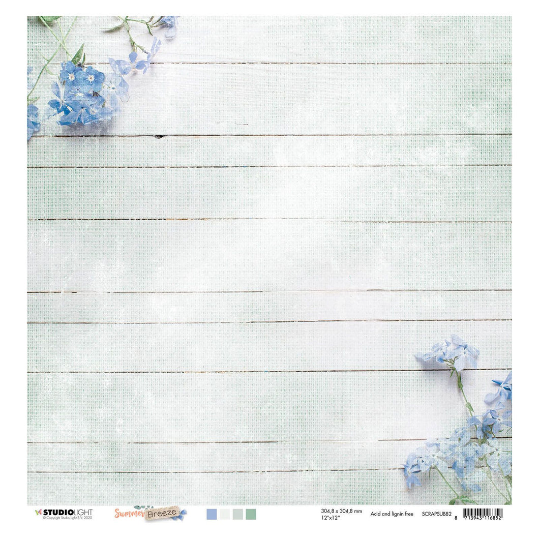 Designpapier von Studio Light (Summer breeze nr. 82)