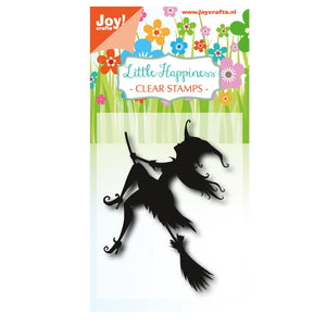 Clear Stamp von Joy!Crafts (Fliegende Hexe)