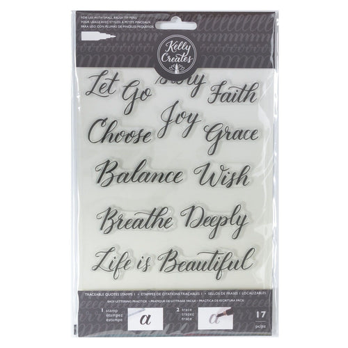 Clear Stamp von Kelly Creates (Quote 1)