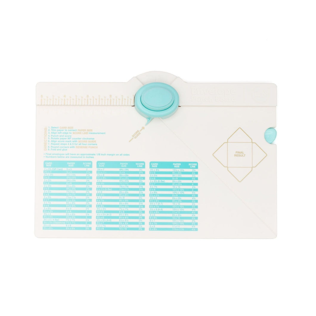 Envelope Punch Board von We R Memory Keepers