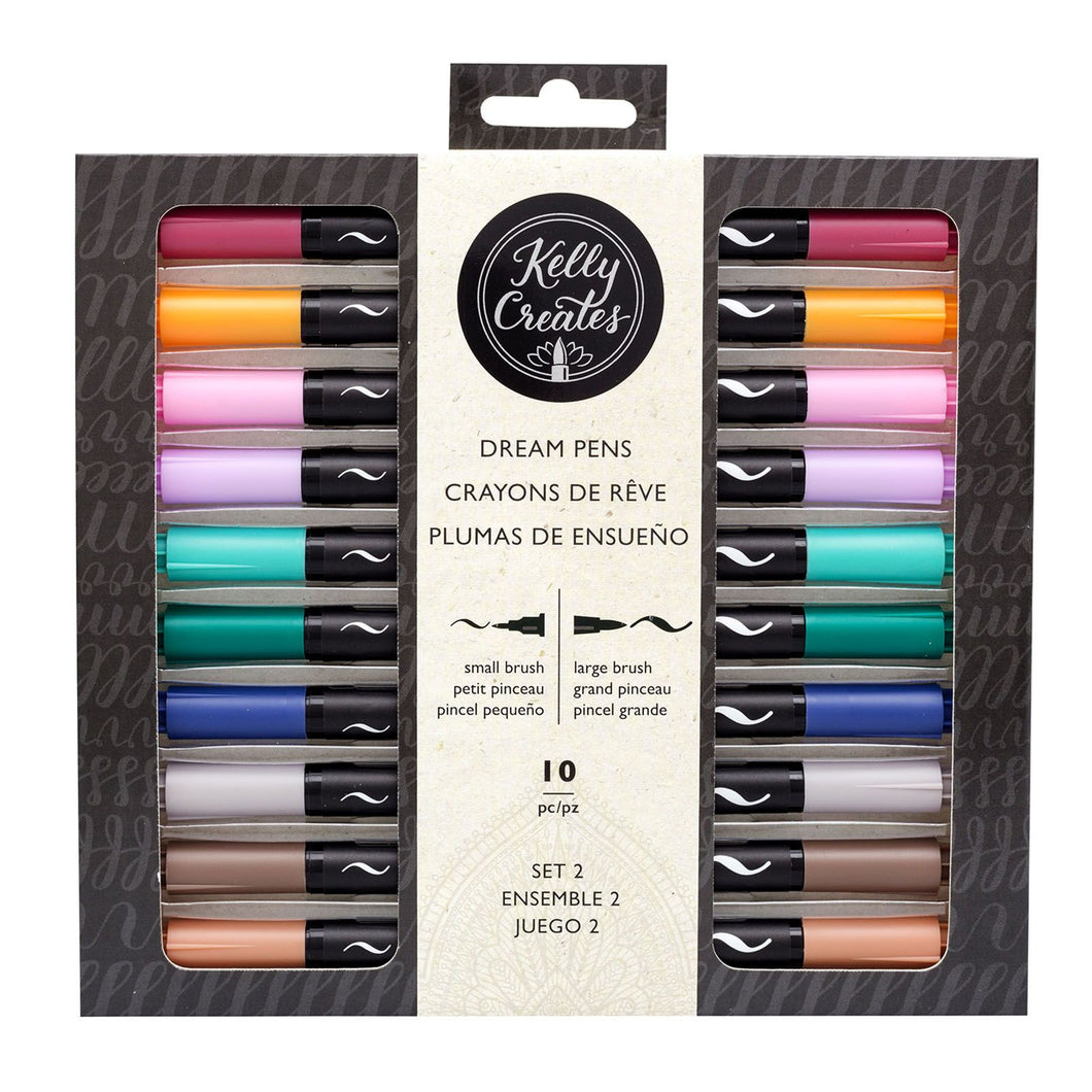 Kelly Creates Brush Pens (Dream Pens)