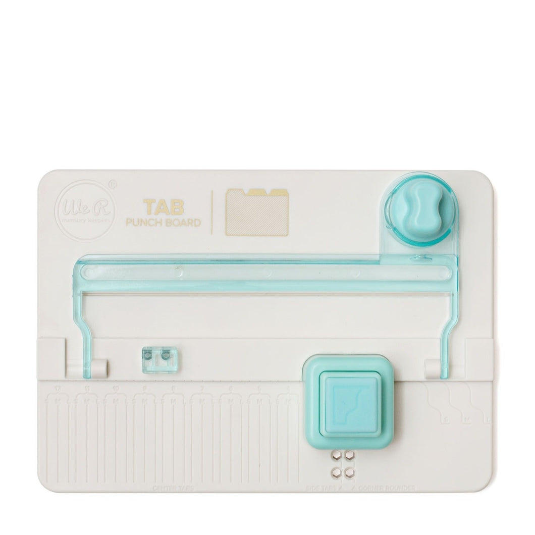 Tab Punch Board von We R Memory Keepers