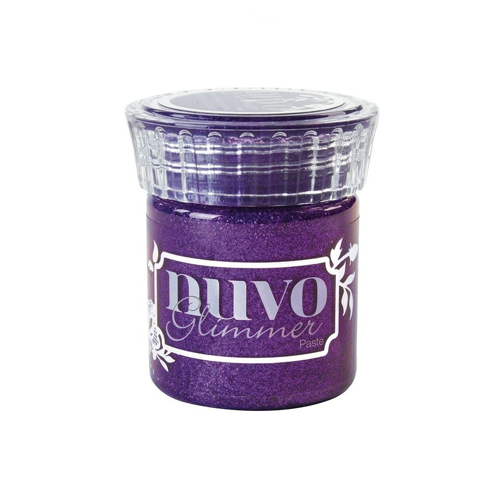 Tonic Studios Nuvo Glimmer Paste - Amethyst Purple
