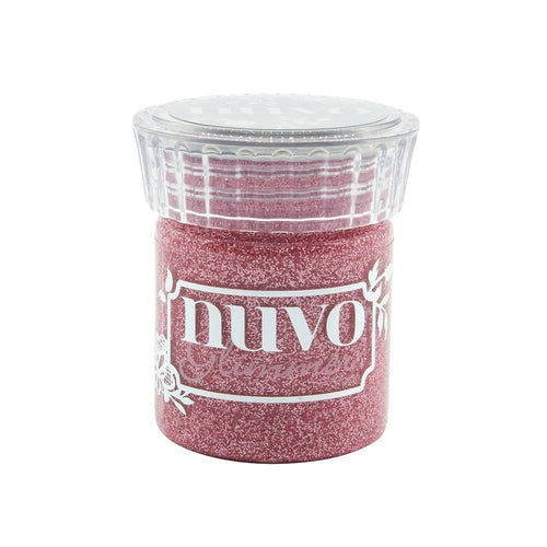 Tonic Studios Nuvo Glimmer Paste - Strawberry Glaze
