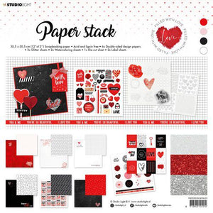 Paperpad von Studio Light (Filled With love nr.1)
