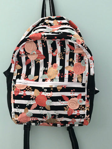 Adult Floral Backpack