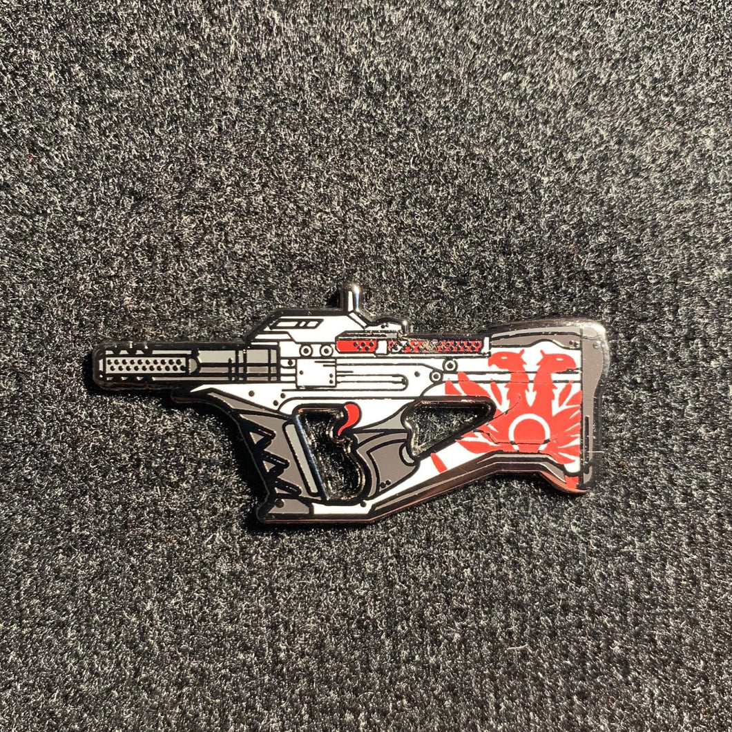 Widow Enamel Pin